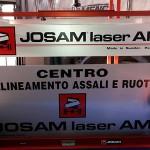 Allineamento Assali con banco Josam laser